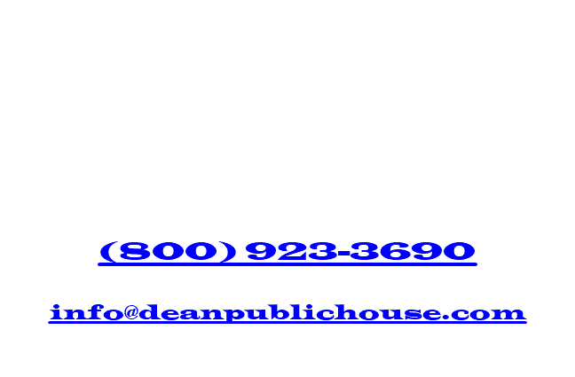 Contact The Dean Public House 412 W. Nevava St. Hot Sulphur Springs, CO 80451 (800) 923-3690 info@deanpublichouse.com